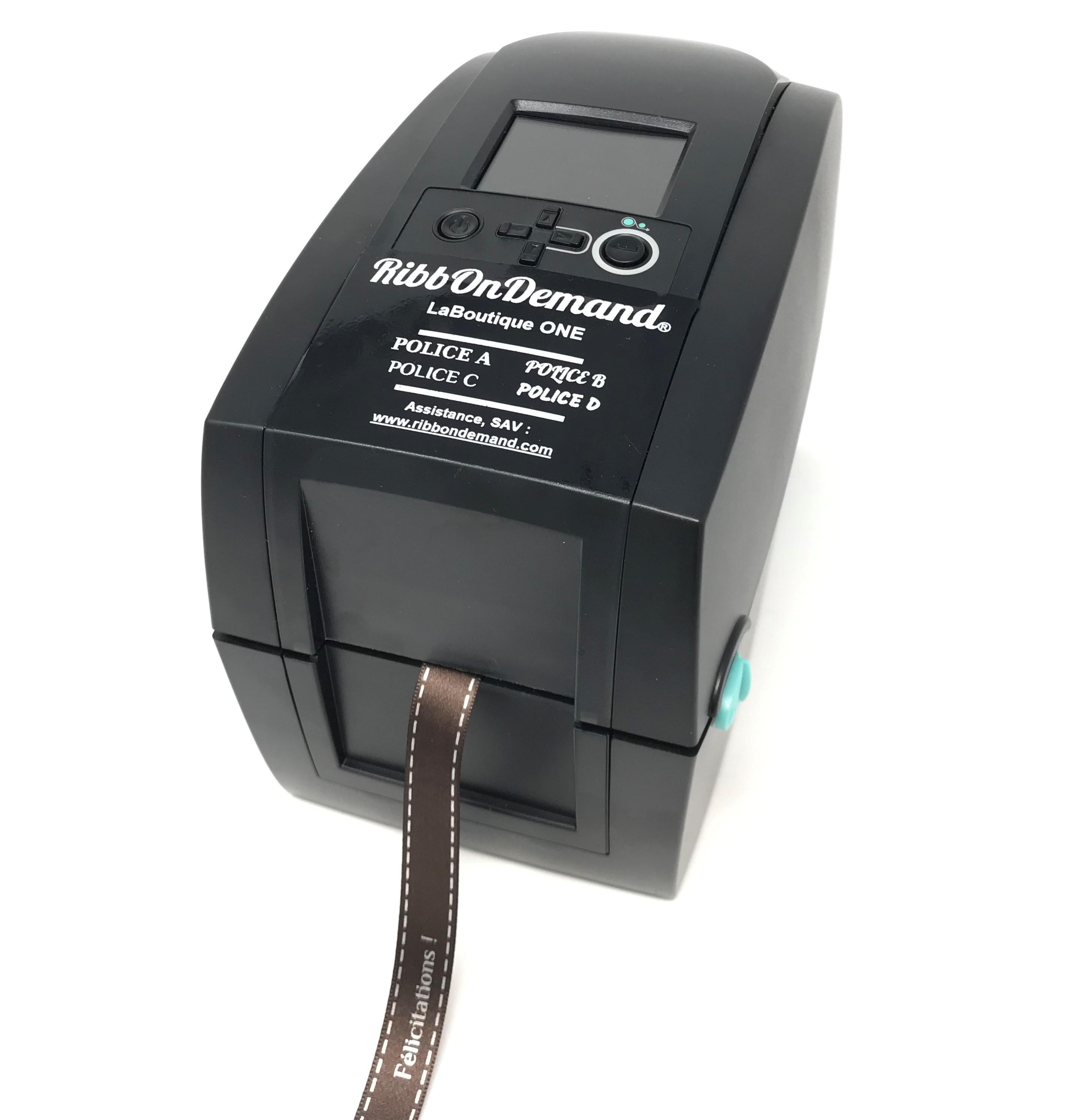 Satin ribbon printer LaBoutique