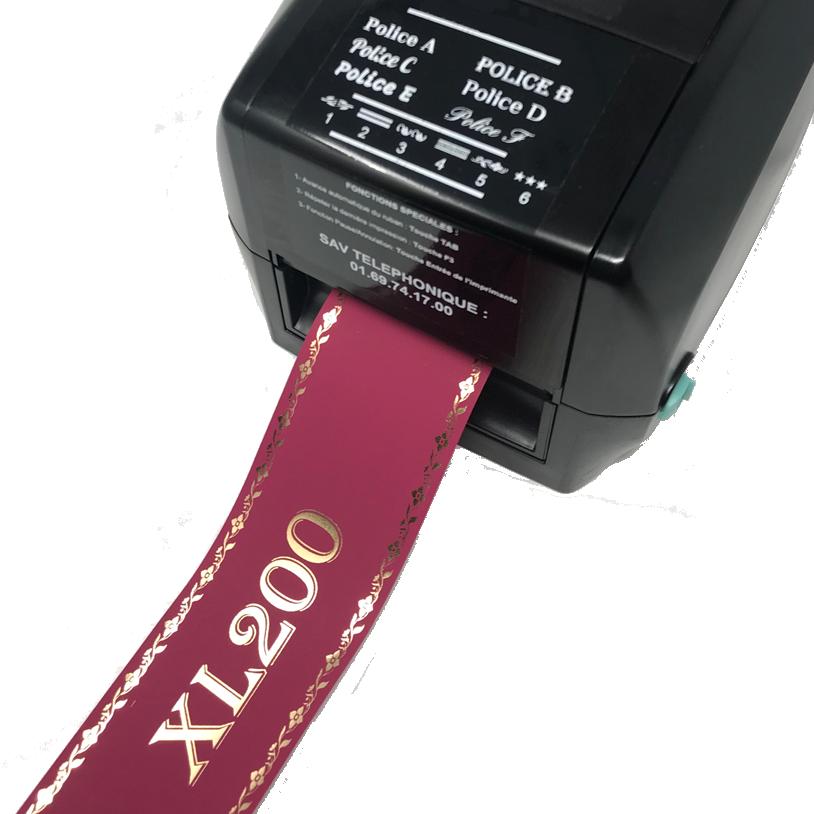 Funeral ribbon printer XL200